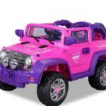 Jeep Wrangler Rosa 12V