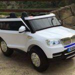 BMW X5 Style 12V 4X4 Blanco (2 Plazas)