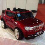 BMW X5 STYLE 4X4 2.4G 2 PLAZAS BURDEOS METALIZADO
