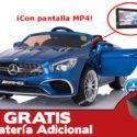 Mercedes SL65 12V 2.4G MP4 Azul Metalizado + Batería extra