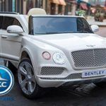 BENTLEY BENTAYGA 12V 2.4G BLANCO