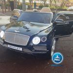 BENTLEY BENTAYGA 12V 2.4G NEGRO METALIZADO
