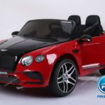BENTLEY CONTINENTAL SUPERSPORTS 12V 2.4G ROJO Y NEGRO