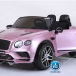 BENTLEY CONTINENTAL SUPERSPORTS 12V 2.4G ROSA METALIZADO