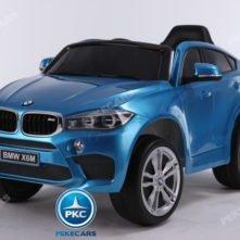 BMW X6M 12V 2.4G Azul Metalizado
