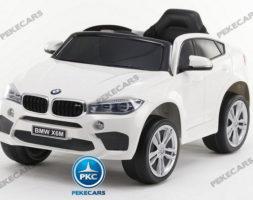 BMW X6M 12V 2.4G Blanco