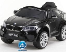 BMW X6M 12V 2.4G Negro Metalizado