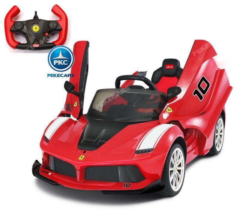 Ferrari FXX-K 12V 2.4G Rojo Pintado
