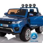 Jeep 12V 4X4 MP4 2.4G Azul Metalizado