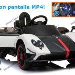 PAGANI ZONDA PANTALLA MP4 BLANCO 12V 2.4G