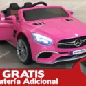 Mercedes SL65 12V 2.4G MP4 Rosa