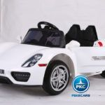 PORSCHE LUXE STYLE WHITE 12V CON R/C 2.4G