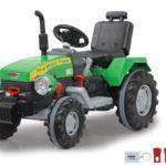 Tractor Power Drag 12V con remolque