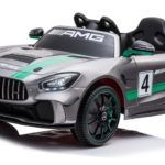 Mercedes Deportivo GT4 12V 2.4G Plata Metalizado