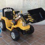 TRACTOR ELÉCTRICO 12V AMARILLO